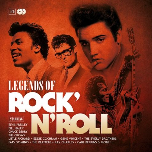VARIOUS Artists - LEGENDS OF ROCK N ROLL
