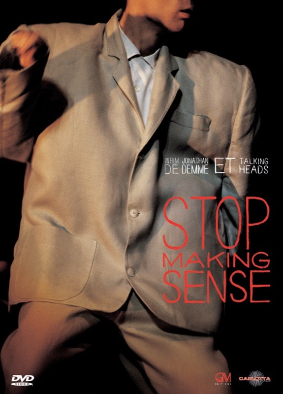 DVD STOP MAKING SENSE