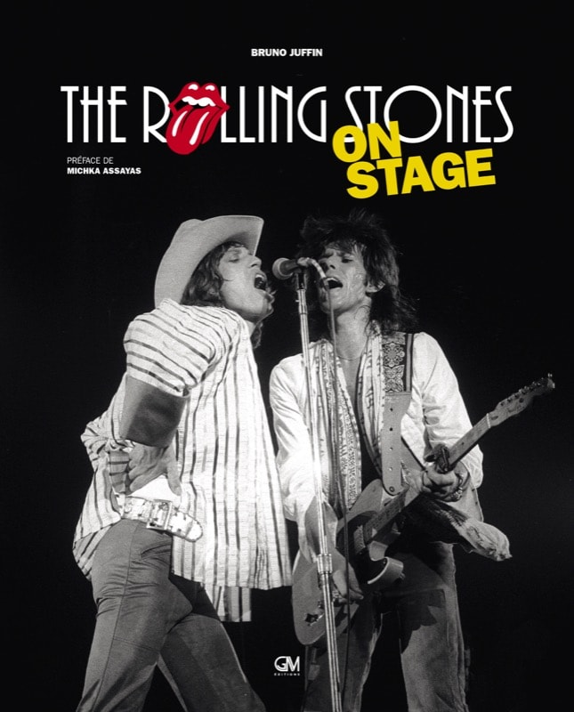 rolling stones on stage