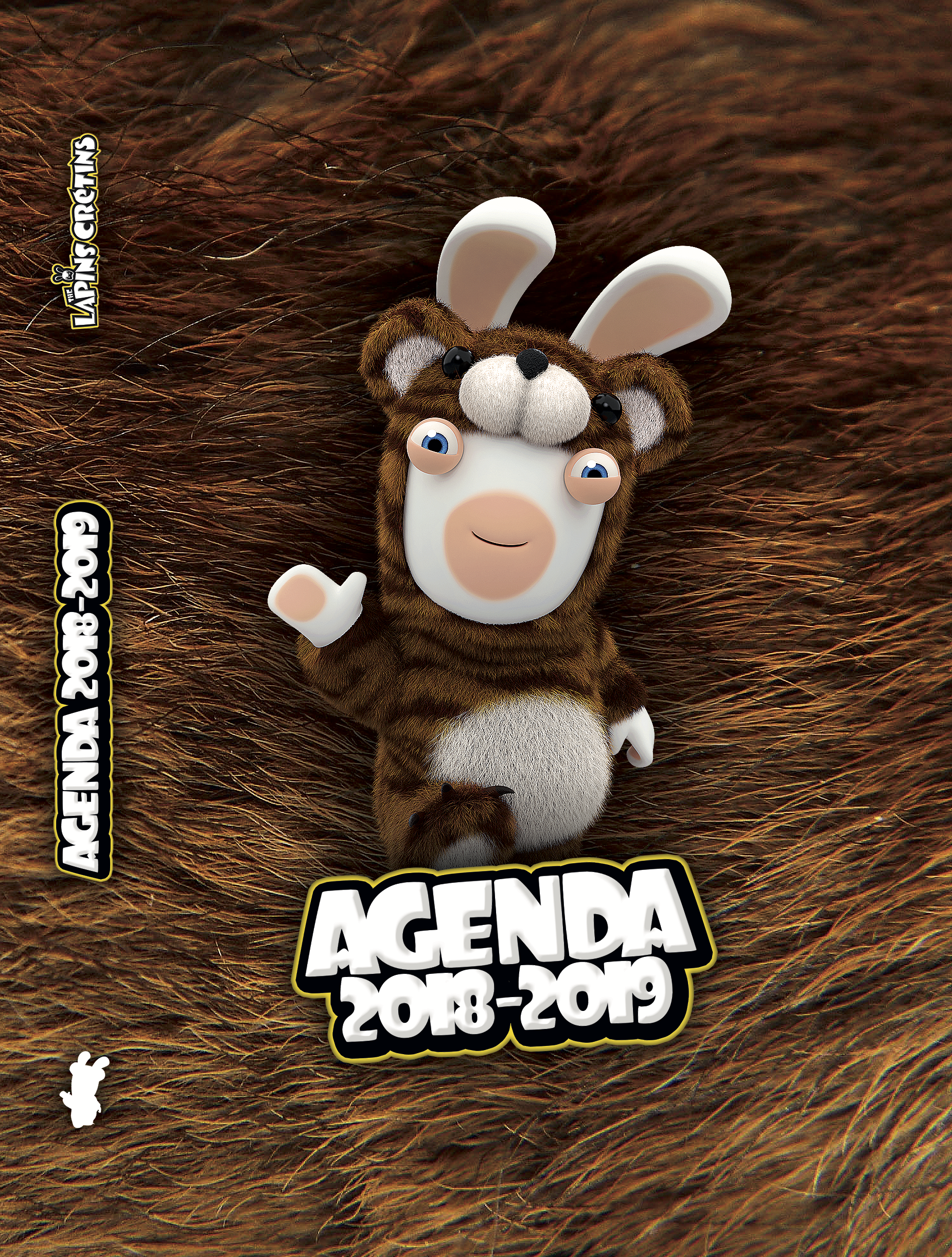 agenda lapins crétins ours